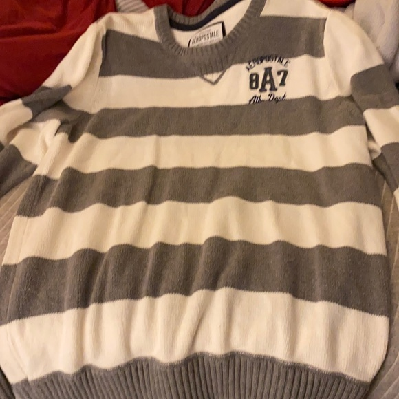 Xl stripped sweater